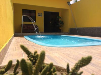 Photo for House with pool in the center of Maragogi at 250m from the sea!