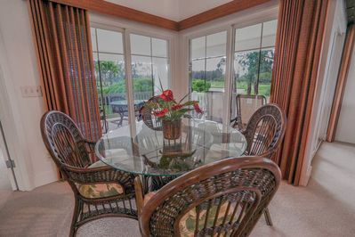Dining Area with Gorgeous Views