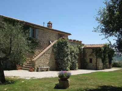 Photo for Beautiful Restored Country House on Umbrian/Tuscan Border