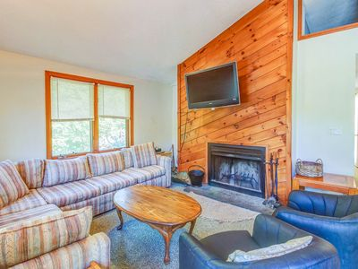 Photo for Spacious countryside home w/ private hot tub - near skiing at Mount Snow!
