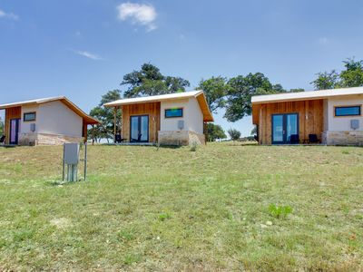 Photo for Dog-friendly, vineyard retreat w/ Hill Country views - great romantic getaway!