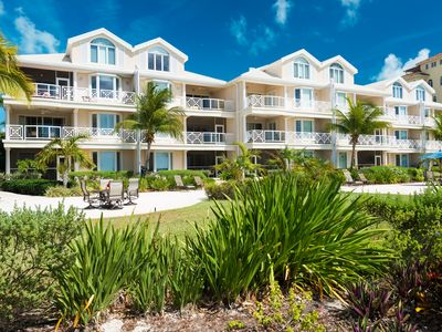 Photo for A few steps from the door and you're on Grace Bay Beach!