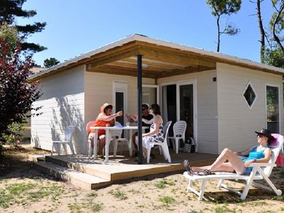 Photo for Camping Domaine des Salins **** - 4 room chalet 5 people