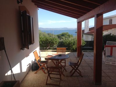 Photo for Villa with sea view. Sardinia sleeps 4 persons.