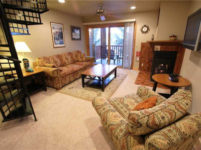 Photo for Snow Flower Condo #72, 1 bed/loft 2 bath, sleeps 6 SKI-IN/SKI-OUT to Park City Mountain Resort