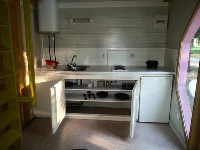 Photo for Camping Bellerive - Chalet 4 People (Between 0 And 5 Years)