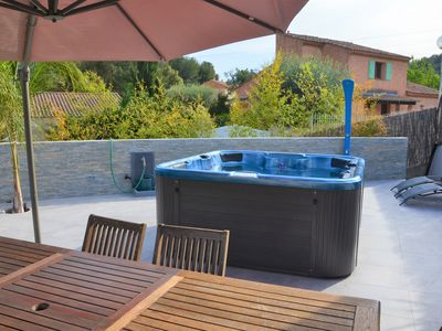 Photo for SPA HOUSE / LARGE TERRACE / JACUZZI 35 °