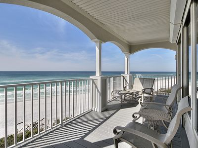 Photo for Dazzling Gulf-Front Condo on 30A w/  Stunning Views! Book for Christmas!