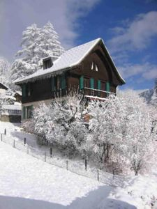 Photo for chalet facing the Mont Blanc
