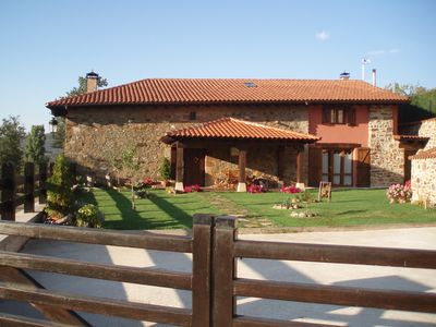 Photo for RURAL HOUSE, THE HAYEDO, IN PINEDA DE LA SIERRA, IN FULL SAW DE LA DEMANDA