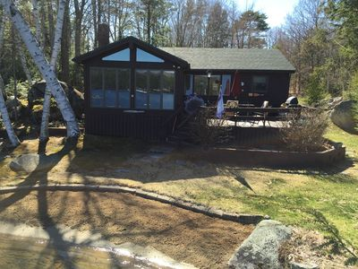 Photo for Adorable Winnipesaukee Lakehouse with Guest House for 10