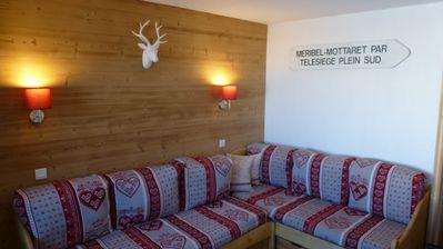 Photo for Val Thorens (3 valleys) ski-in ski-out apartment, 2 bedrooms, 4/6 people