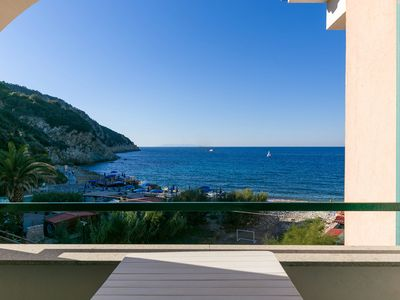 Photo for Terrace with fantastic sea view - Apartment Gianna