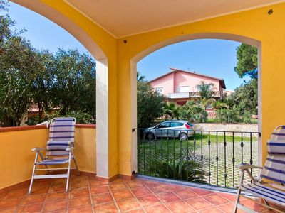 """Photo for Bright Apartment """"Residenza Anthea 3"""" with Terrace & Garden; Parking Available"""