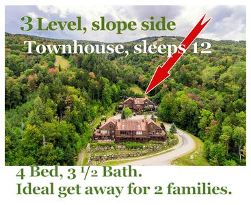 The ski slope is your backyard! Luxurious townhouse at Bretton Woods (sleeps 12)