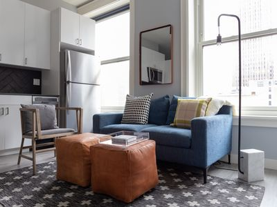 Photo for Sonder | The Plymouth | Tasteful 2BR + Gym