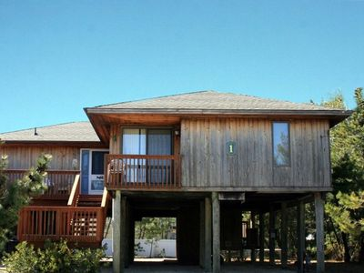 Photo for LOVELADIES - ALMOST BEACH FRONT, Raised House with  3 Decks, Lots of Parking,