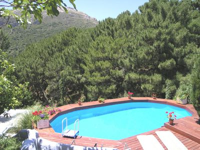 Photo for Beautiful farm cottage with private pool near Casares