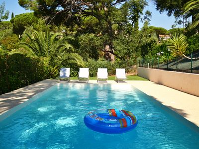 Photo for Pretty provençal villa w/ nice amenities in Les Issambres,close to Sainte Maxime