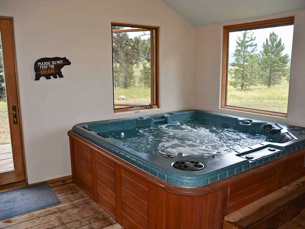 5br angel fire cabin w indoor hot tub angel fire taos