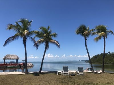 Photo for Charming cottage on a private waterfront acre with direct access to Florida Bay