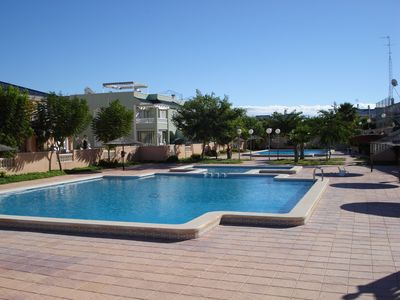 Photo for Gran Alacant ground floor apartment, near beach, nature reserve and amenities.