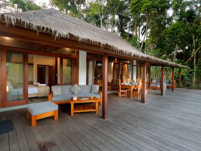 Photo for Jungle Wooden Villa, 3 BR, Ubud, Monthly 25 JT/ Weekly 7.5 JT (BIG PROMO)