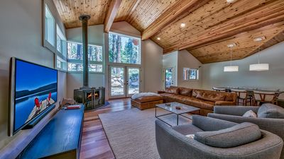 Photo for Modern Luxury Truckee/Donner Home in Quiet N'hood. Very near Donner Lake