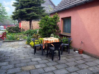 Photo for Holiday apartment with barbecue facilities, Bodden beach (estuaries) at 50 m