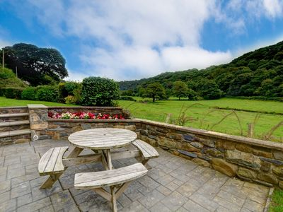 Photo for This attractive, detached, split-level house is situated in the Gwaun Valley, about 5 miles from Fis