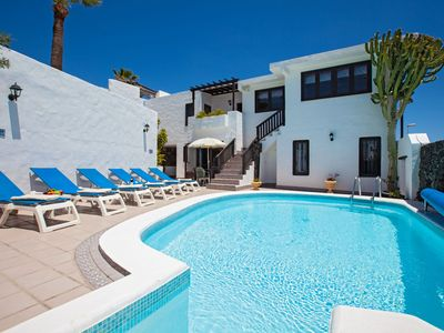 Photo for Villa Jessica Sleeps 10, Free Air Con/WiFi, Private Heated Pool, Games Room