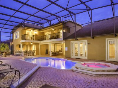 Photo for Ruby Villa | Lake View Home in Formosa Gardens Estates - 3 Miles From Disney