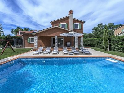 Photo for An extremely charming and unique designed 5 stars villa with pool near Rabac
