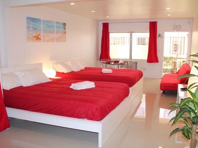 Photo for In the heart of South Beach FREE parking ! Start from $75/day