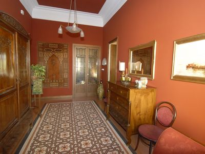Photo for CASA DEI LOLLI, LUXURIOUS FLAT WITH TERRACE IN CENTRE OF PALERMO