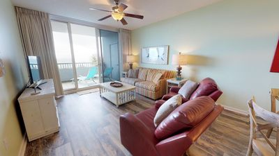 Gulf View Condo With Living & Master Bedroom Balconies-Spa on site!