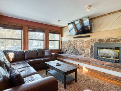 Photo for First floor condo w/ heated parking & hot tub access - close to ski hill!