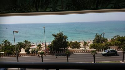 Photo for Beautiful Apartment First line of the beach of abufera Alicante