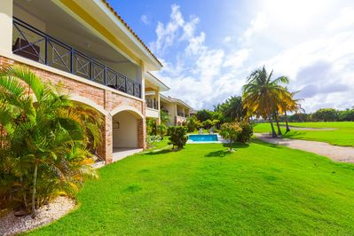 The apartment is situated in the world famous golf residence with charming views
