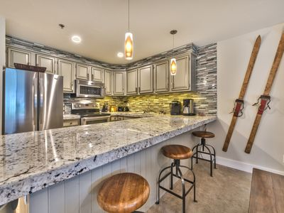 Photo for Large Condo that Sleeps 7 - Steps to Park City Mountain Resort!!