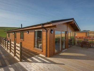 Photo for Beautiful chalet set in the heart of East Lothian's countryside.