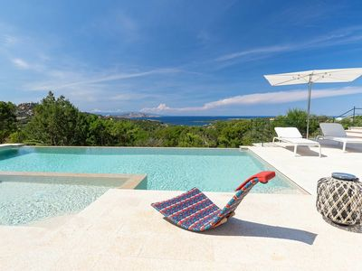 Photo for Villa Mura Porto Cervo - Exclusive luxury villa with heated pool and private spa for 14 people