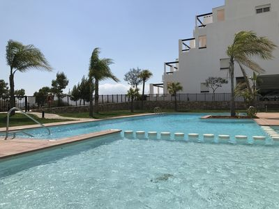Photo for LUXURY PENTHOUSE GULF VIEW - Condado de Alhama Golf Resort (at the golf course)