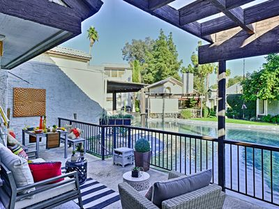 Photo for Updated Palm Springs Townhome w/Pool & Golf Access