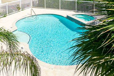 Pool - Enjoy views of the sparkling shared pool from the condo.