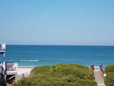 Photo for GREAT RATES FOR SEPTEMBER, GULF VIEWS AND STEPS TO BEACH, PET FRIENDLY!