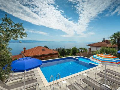 Photo for Villa in Opatija with pool and an excellent view