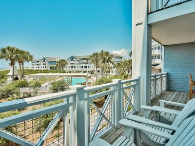 Photo for Executive Access Home! Upscale Condo w/GULF VIEWS! Community Pool!