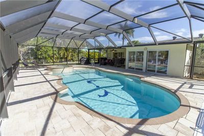 Every vacation needs a pool - You have one when you stay at  Egret Beach House. Enjoy lounging in the sun while the kids splash around.