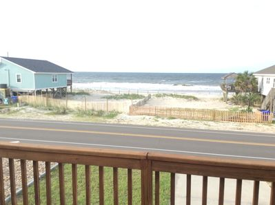 Beautiful view from the large front deck